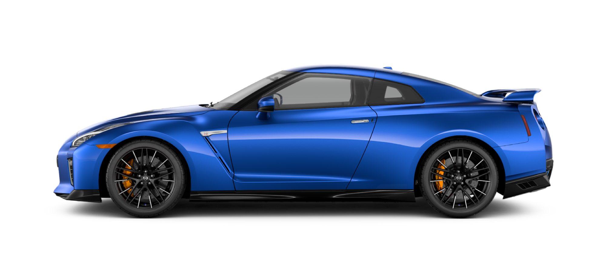 2021 Nissan GT-R in Bayside Blue