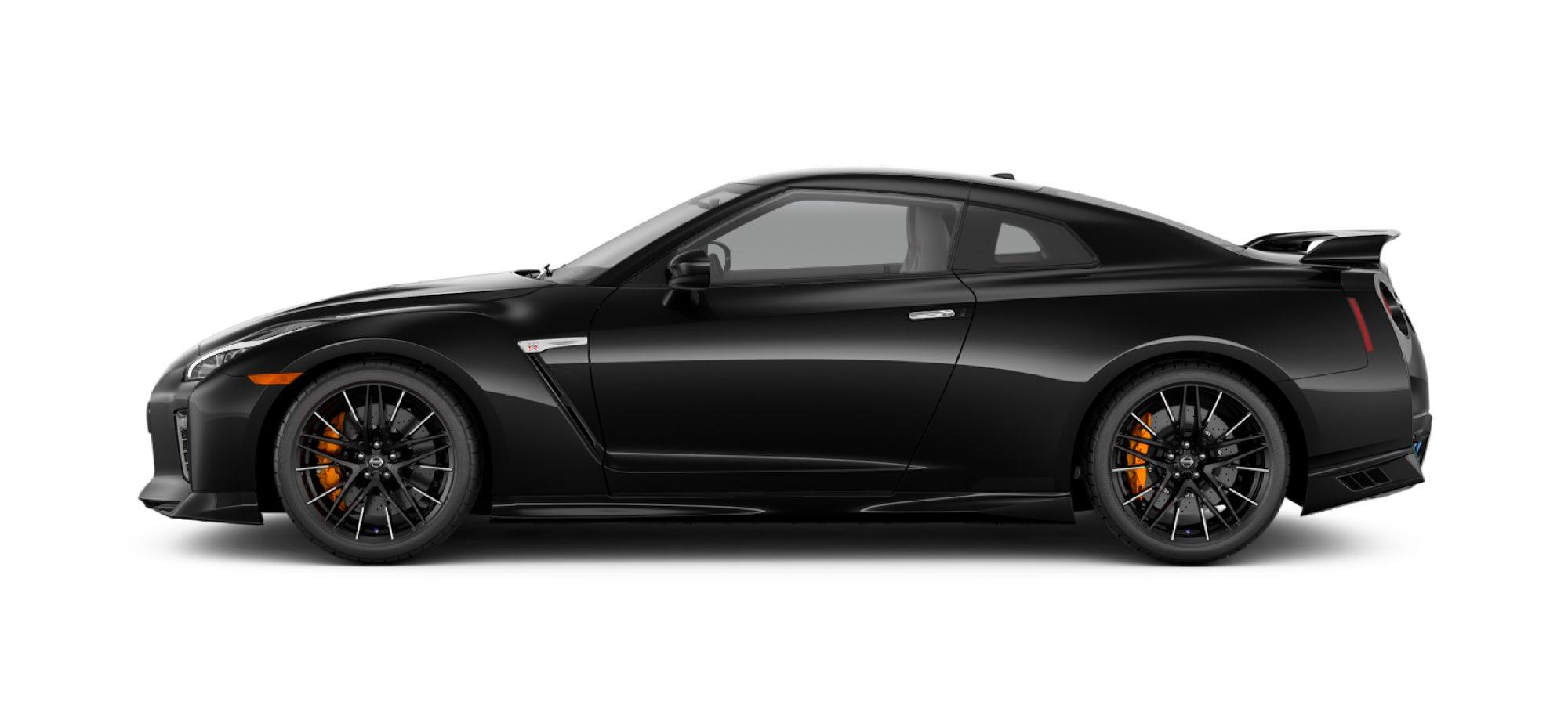 2021 Nissan GT-R in Jet Black Pearl