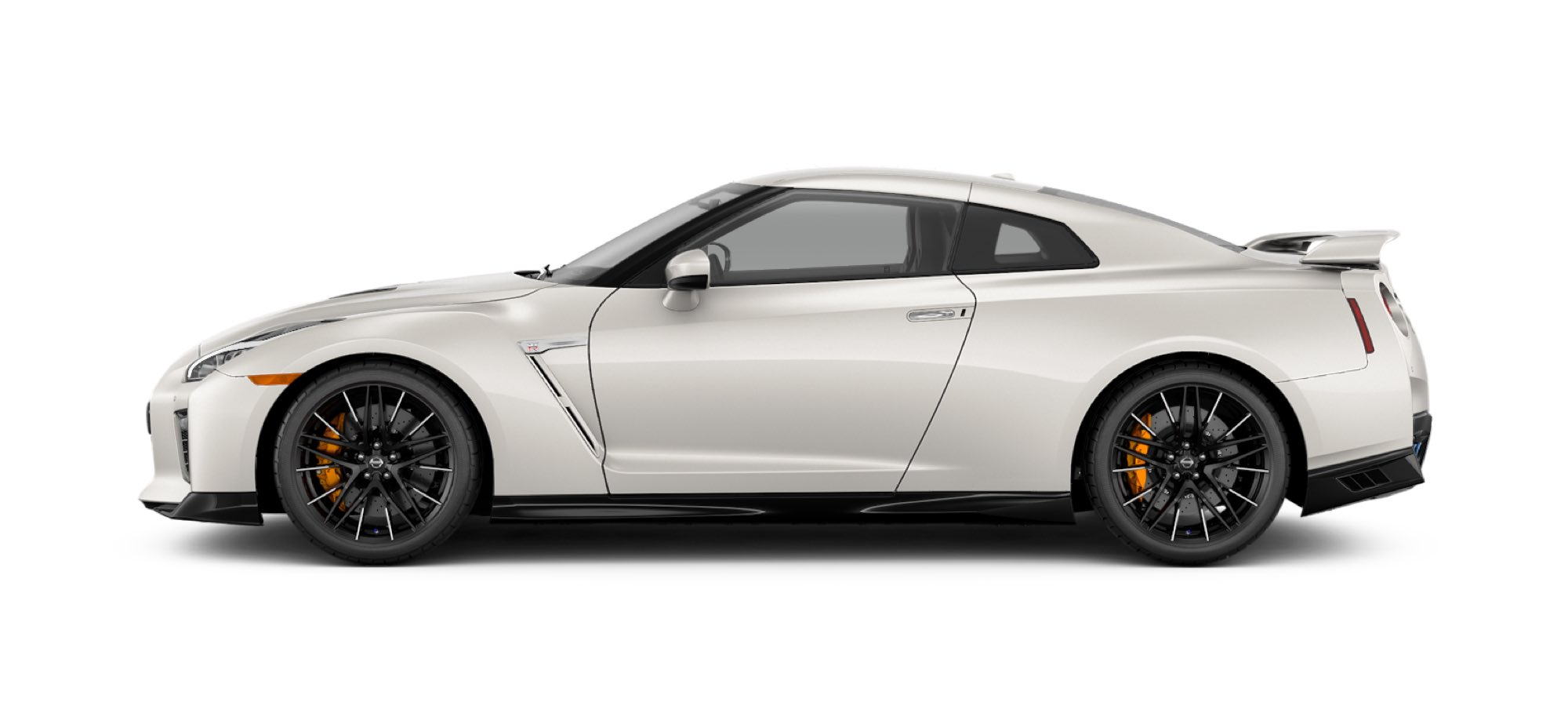 2021 NIssan GT-R in Pearl White TriCoat