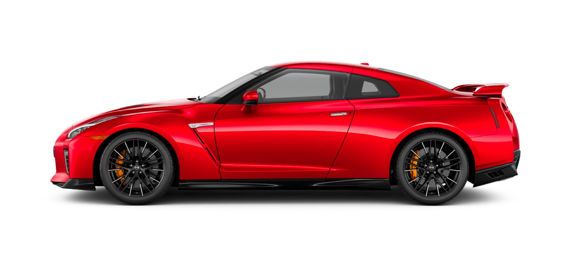2021 Nissan GT-R in Solid Red