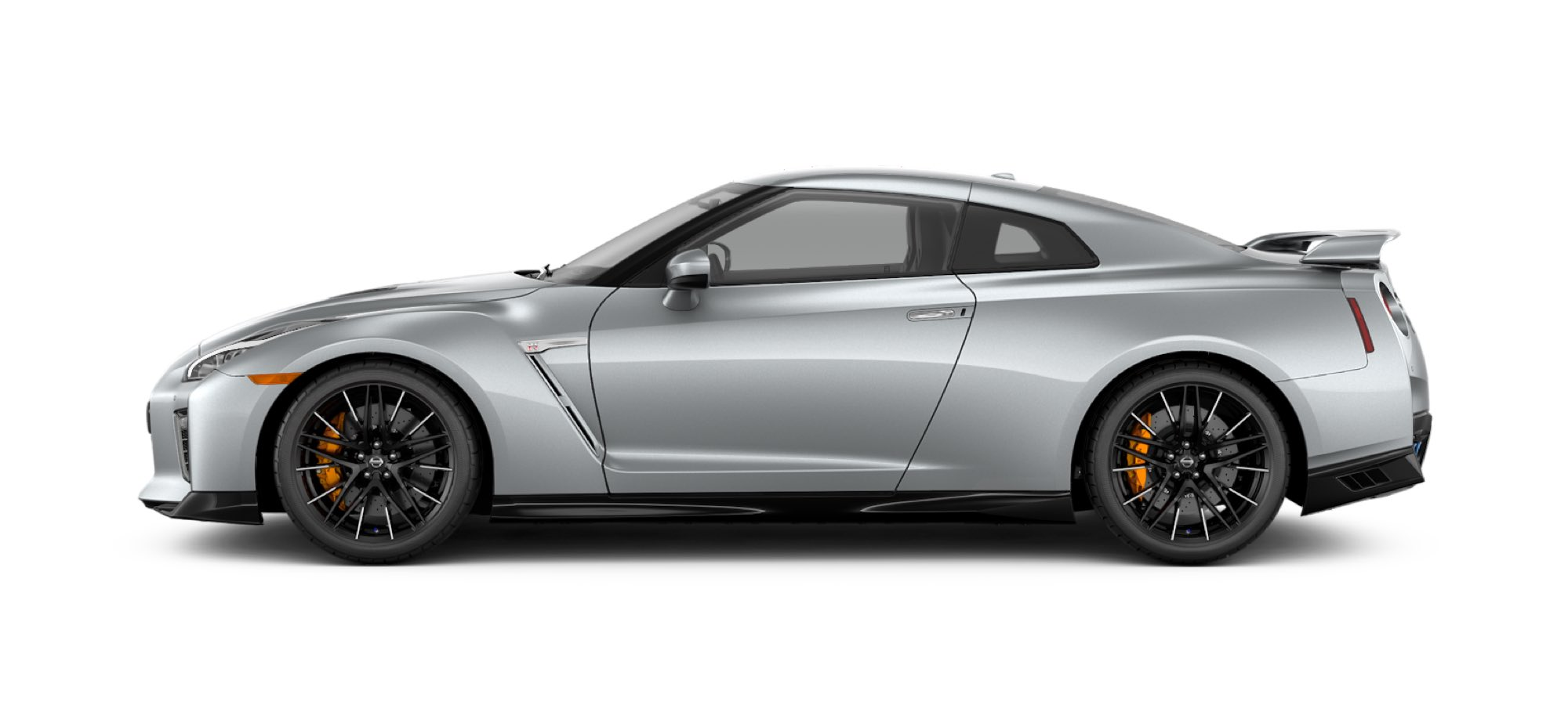 2021 Nissan GT-R in Super Silver Quadcoat