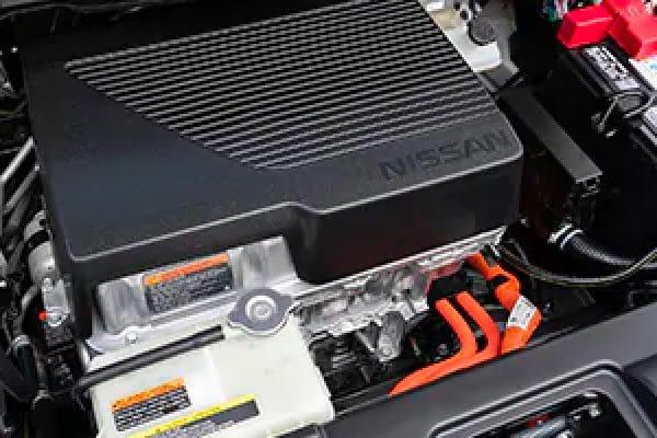 Nissan LEAF electric engine