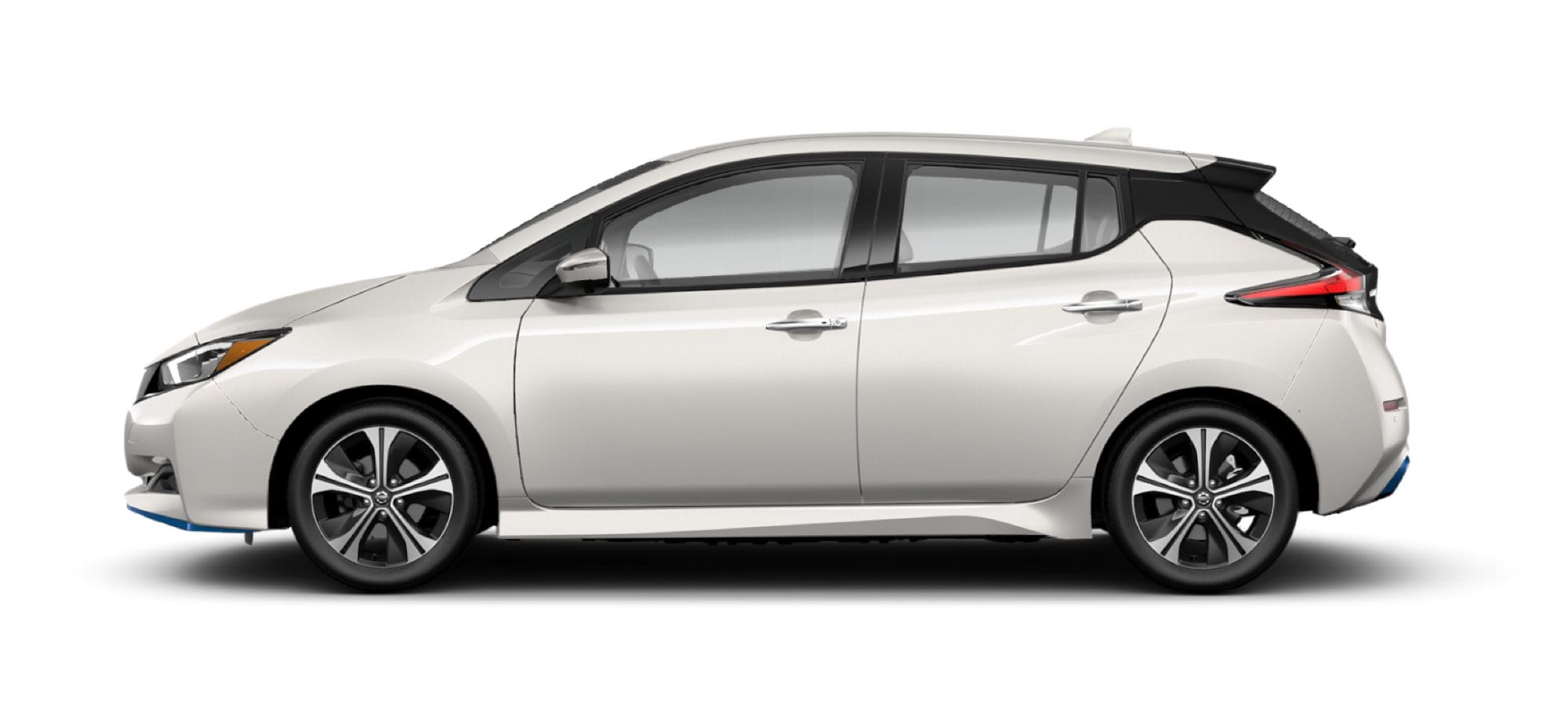 2021 Nissan LEAF in Pearl White TriCoat