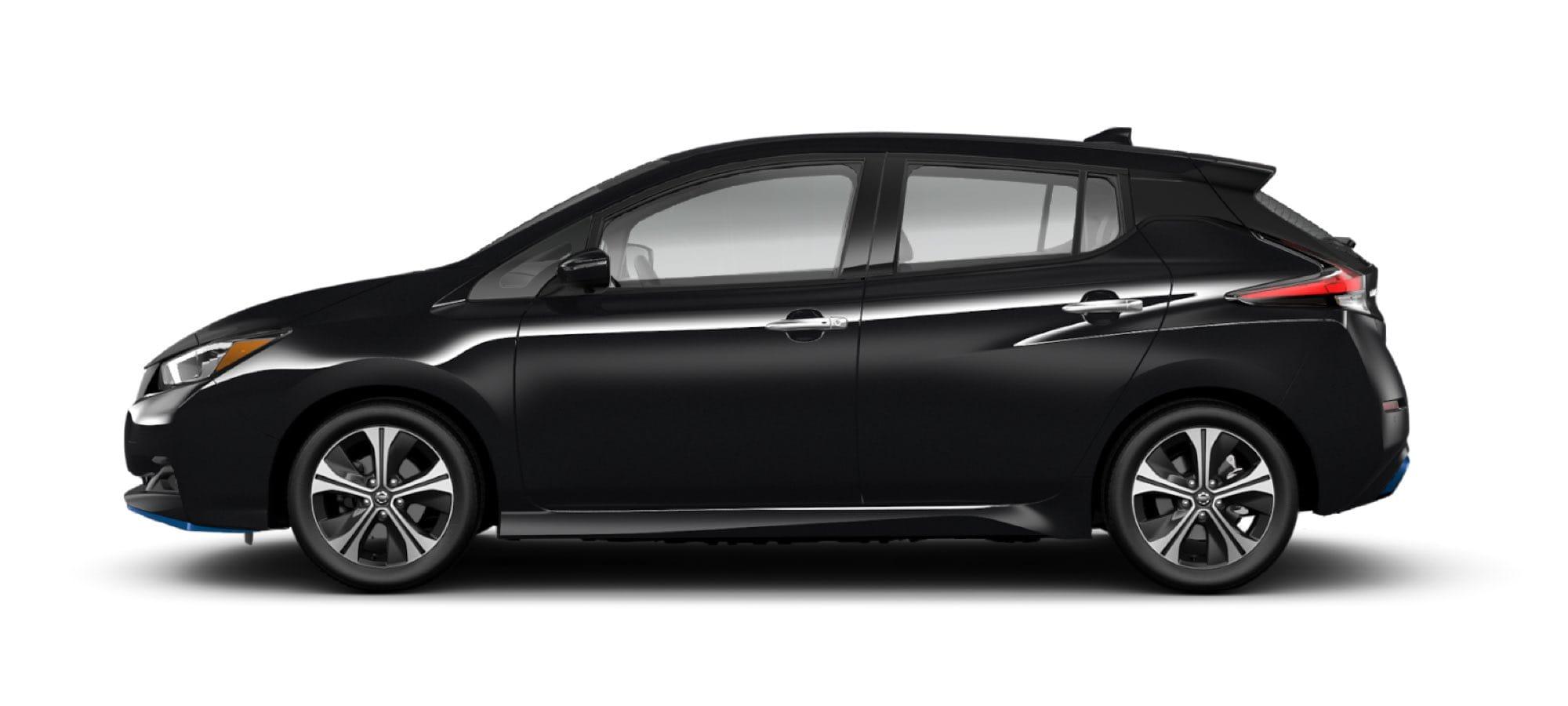 2021 Nissan LEAF in Super Black
