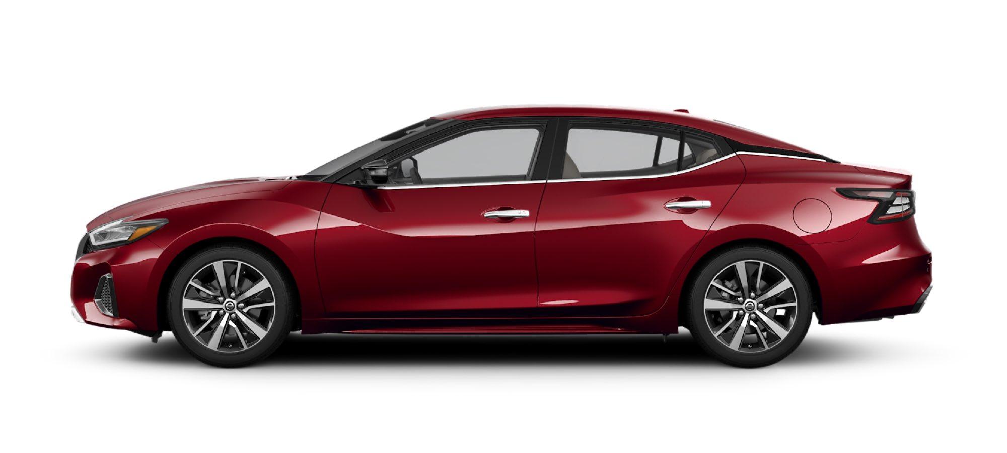 2021 Nissan Maxima in Carnelian Red Tintcoat