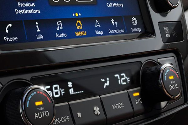 Dual Zone Automatic Temperature Control