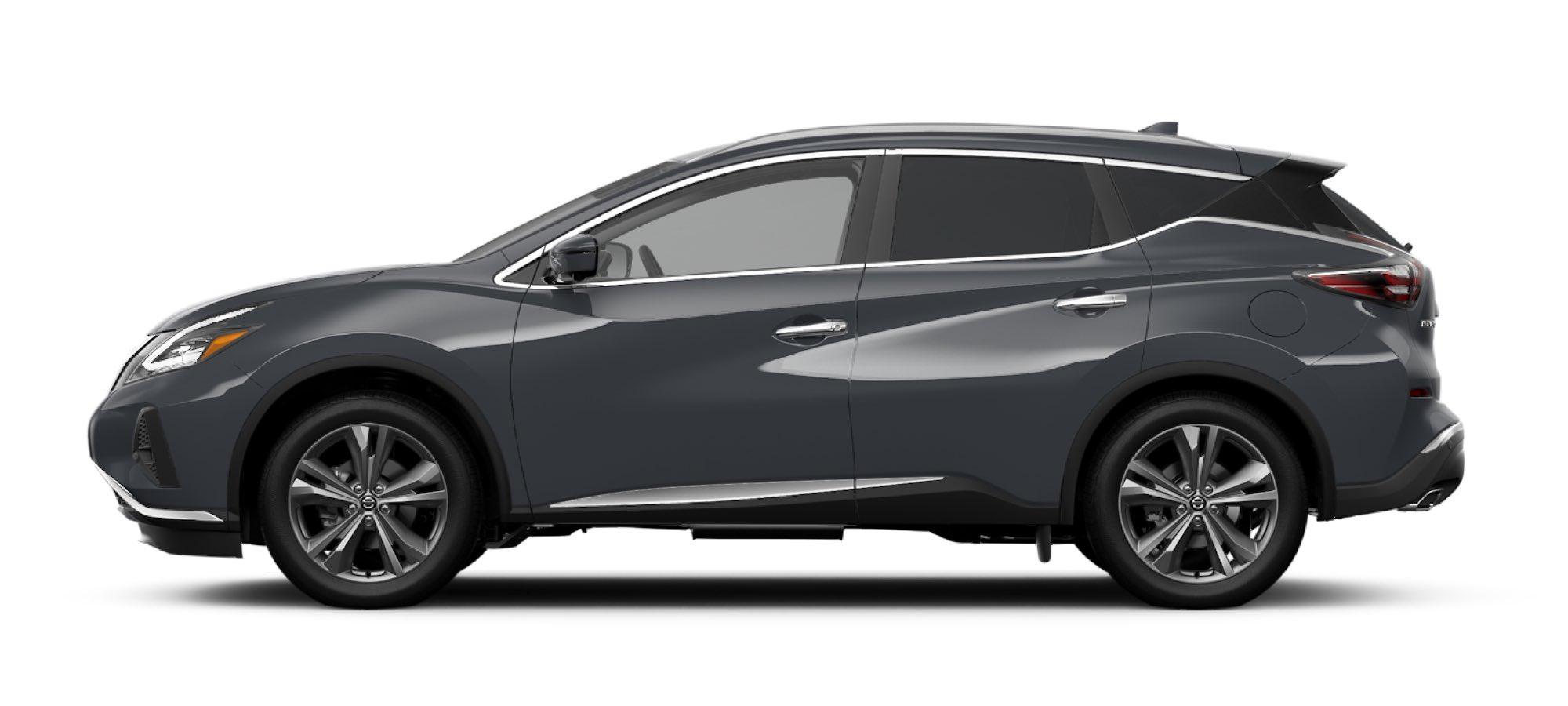 Boulder Gray Pearl Nissan Sedan