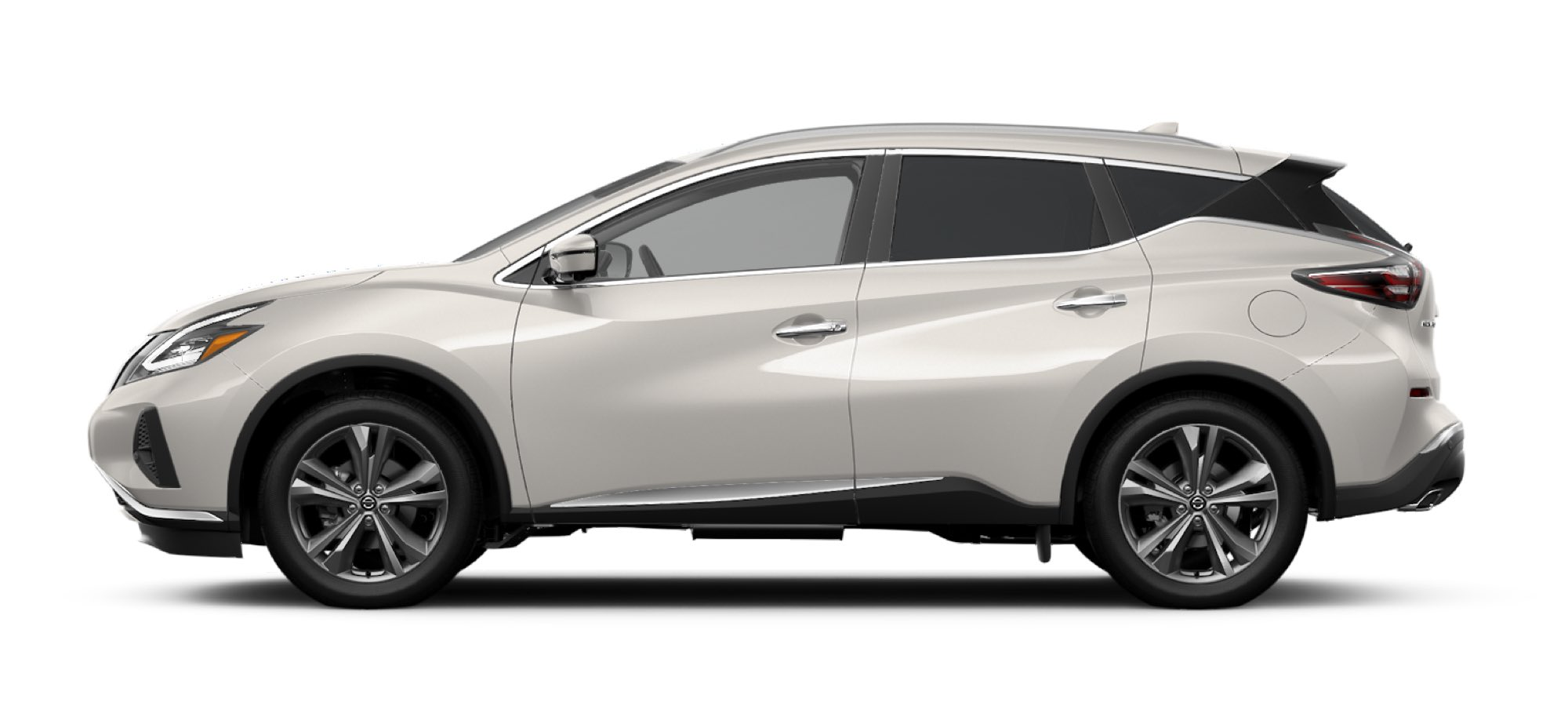 Pearl White TriCoat Nissan Sedan