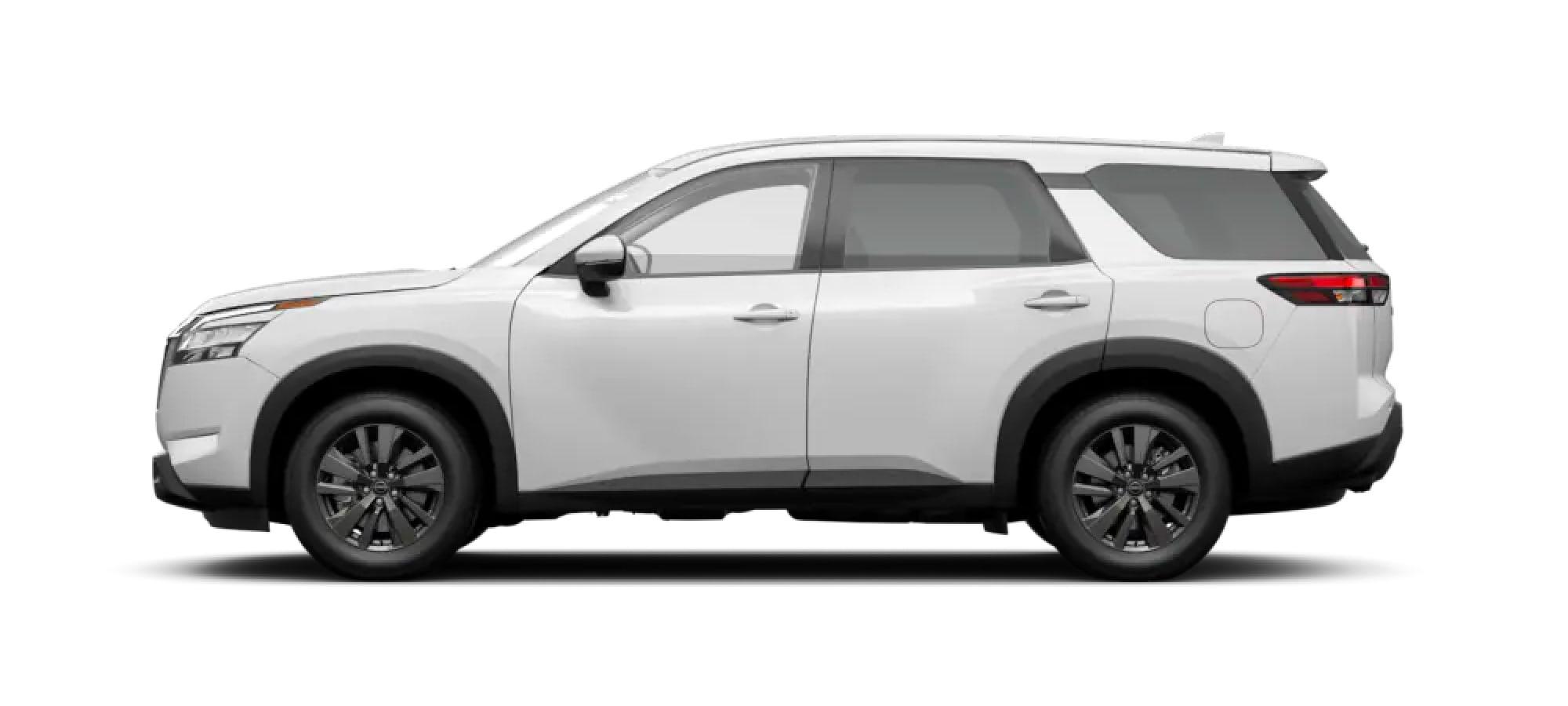 2022 Nissan Pathfinder in Glacier White