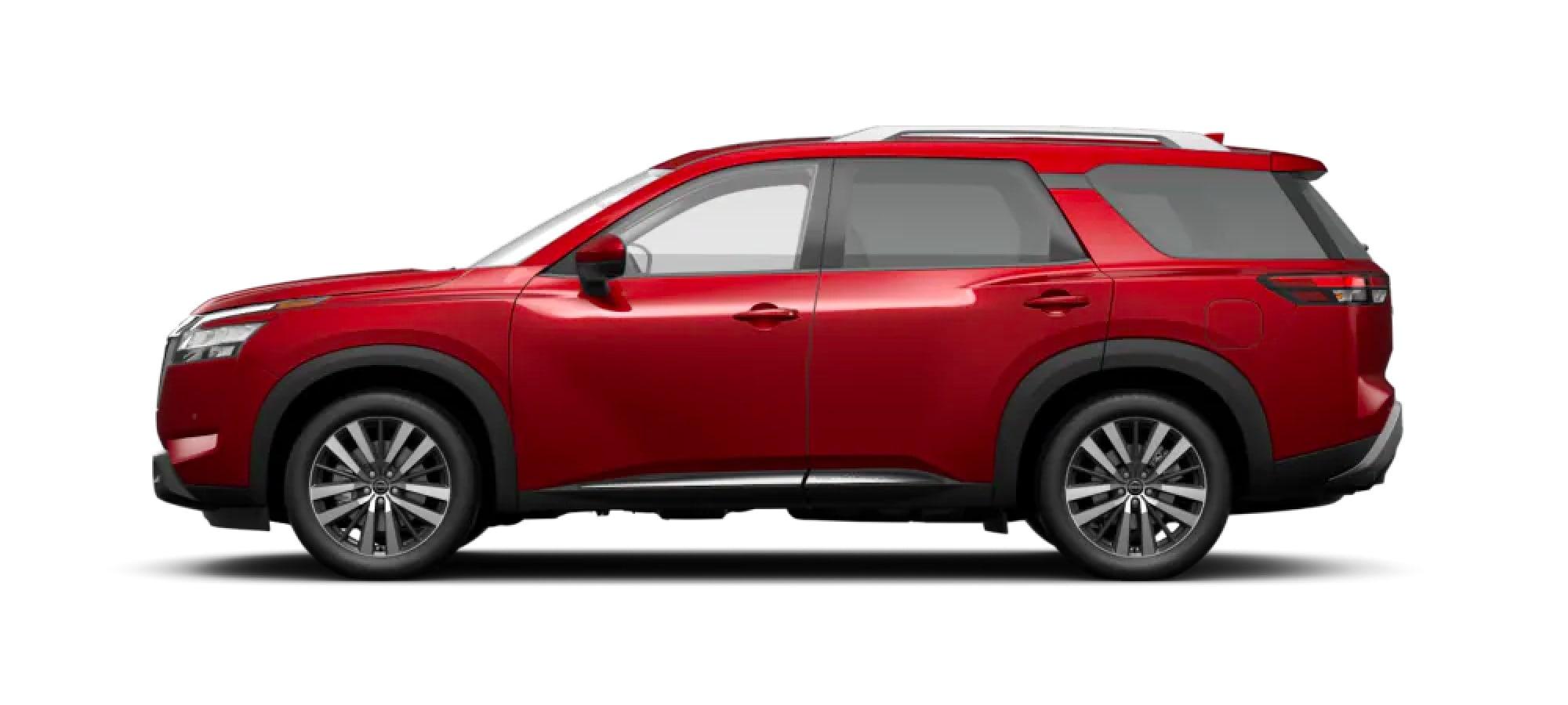 2022 Nissan Pathfinder in Scarlet Ember Tintcoat