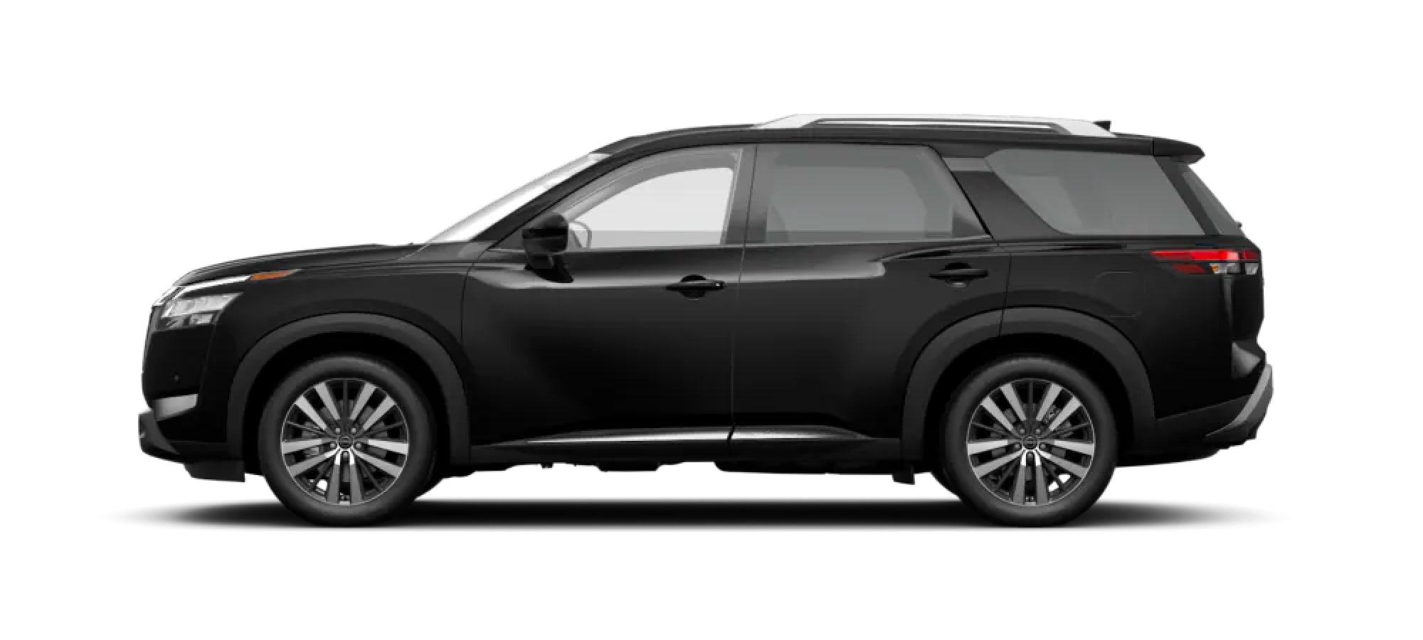 2022 Nissan Pathfinder in Super Black