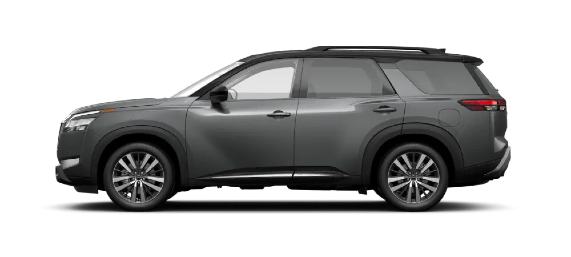 2022 Nissan Pathfinder in Two-Tone Gun Metallic / Super Black