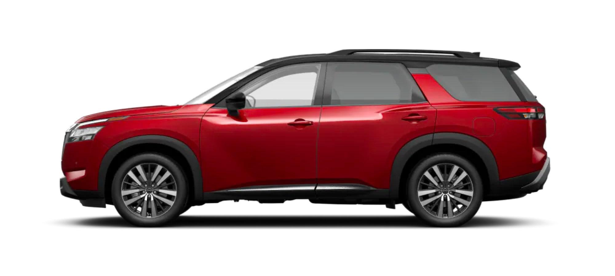 2022 Nissan Pathfinder in Two-Tone Scarlet Ember Tintcoat / Super Black