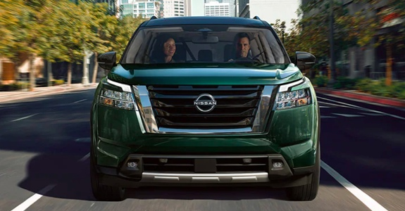 2022 Nissan Pathfinder front view