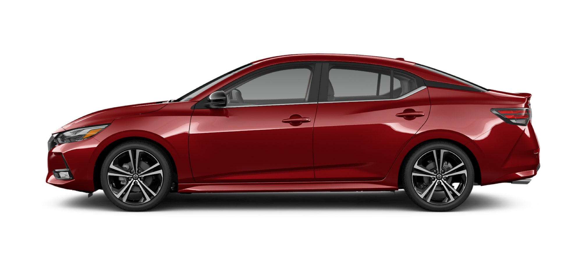 Scarlet Ember Tintcoat Nissan Sedan