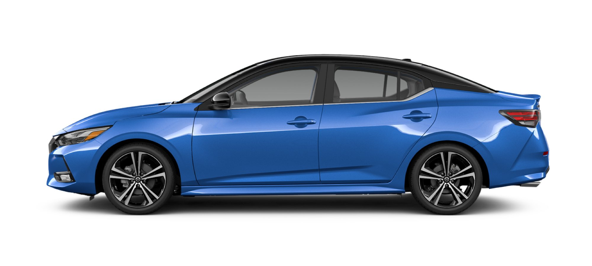 Two-tone Electric Blue Metallic / Super Black