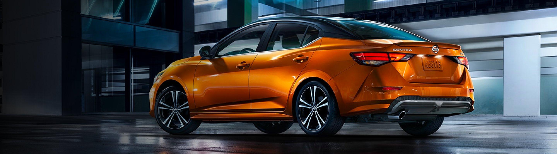 2021 Nissan Sentra Orange