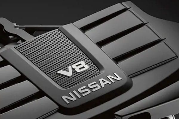 Nissan TITAN engine cover