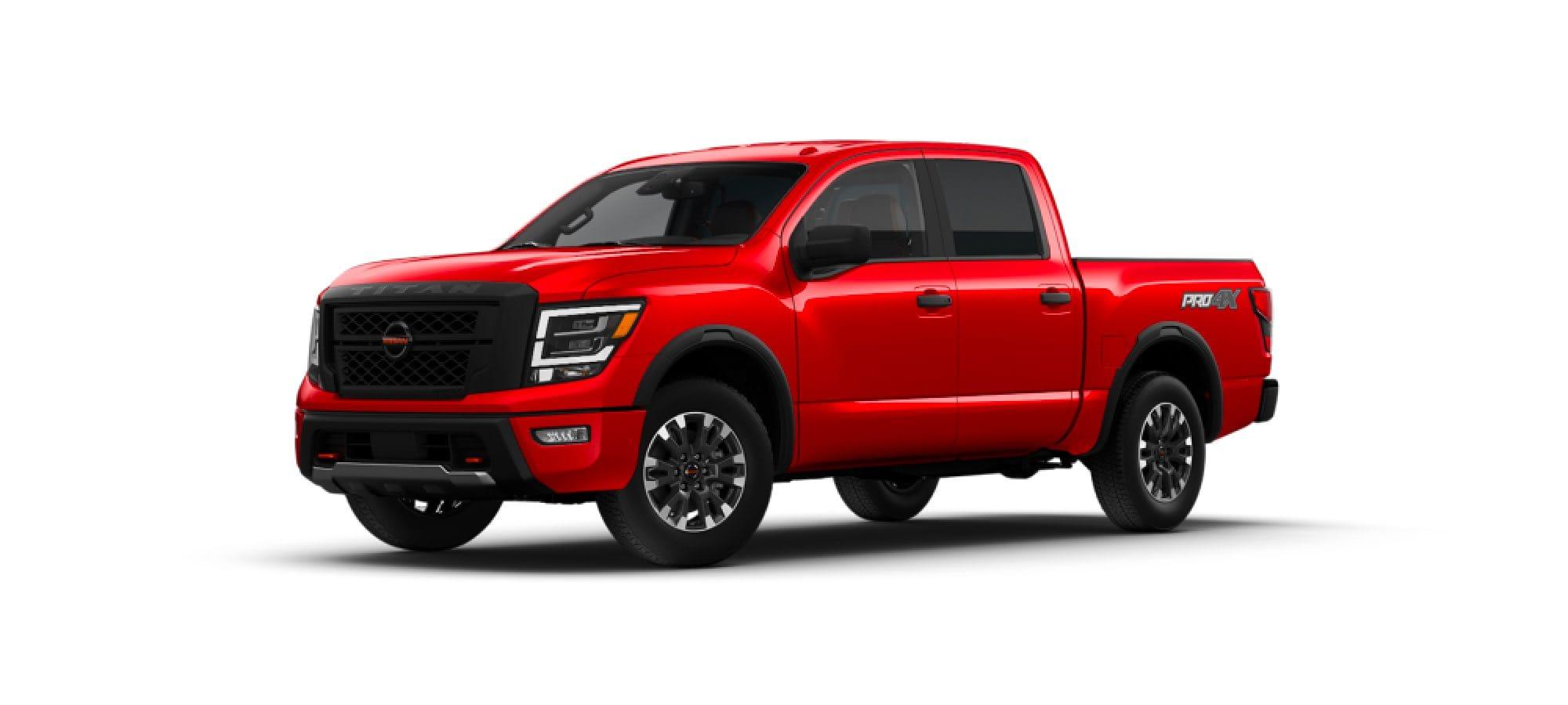 Red Alert Nissan TITAN