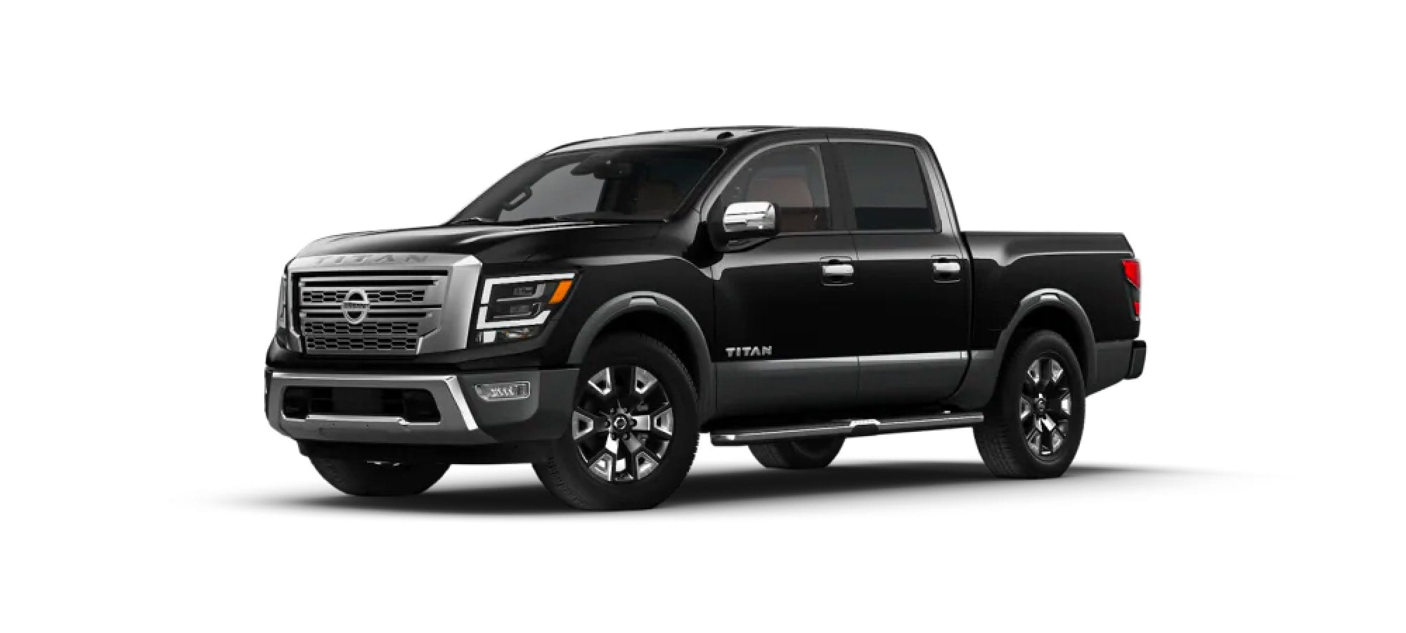 Super Black/Gun Metallic Nissan TITAN