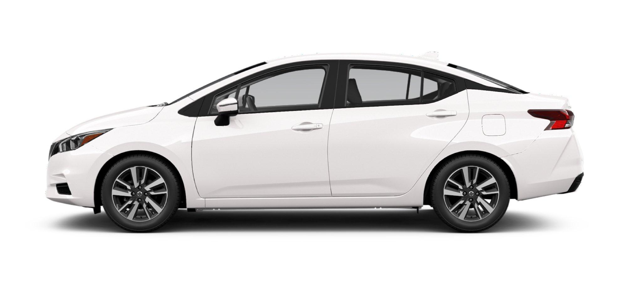 2021 Nissan Versa in Aspen White TriCoat