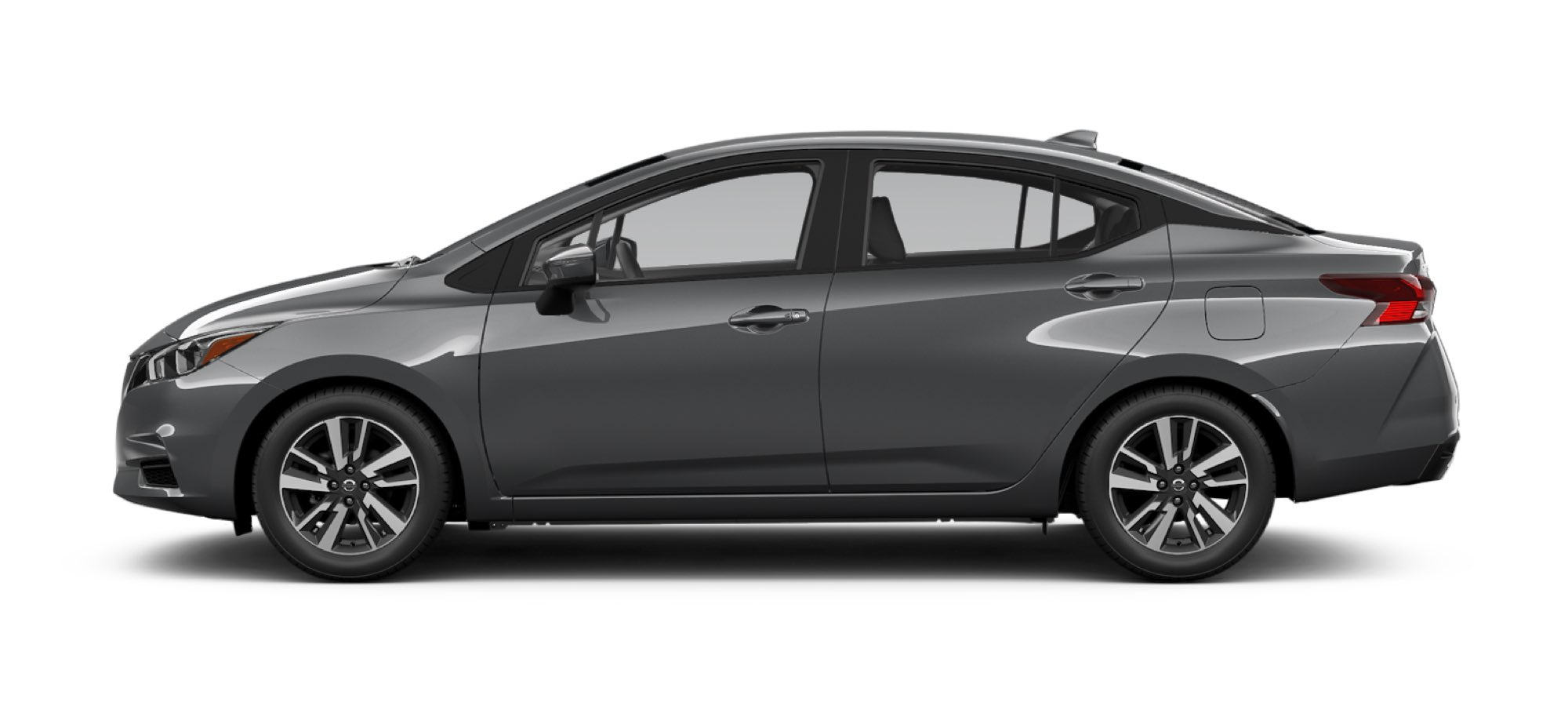 2021 Nissan Versa in Gun Metallic
