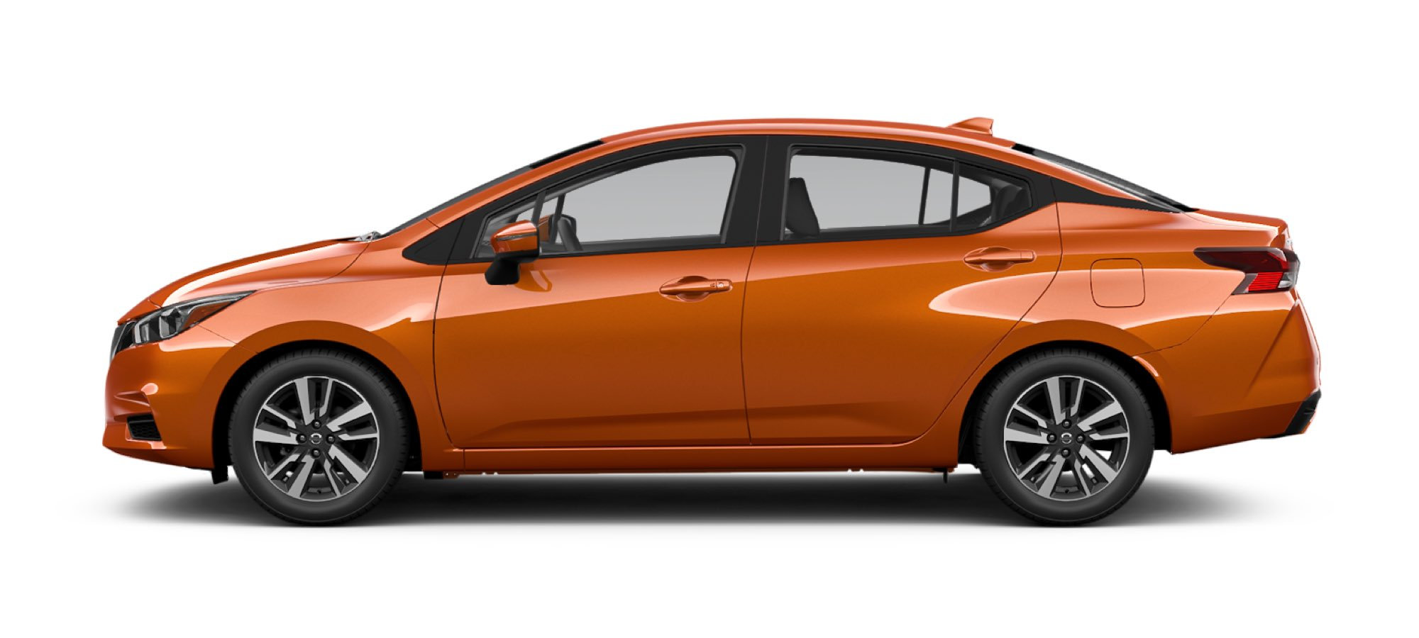 2021 Nissan Versa in Monarch Orange Metallic