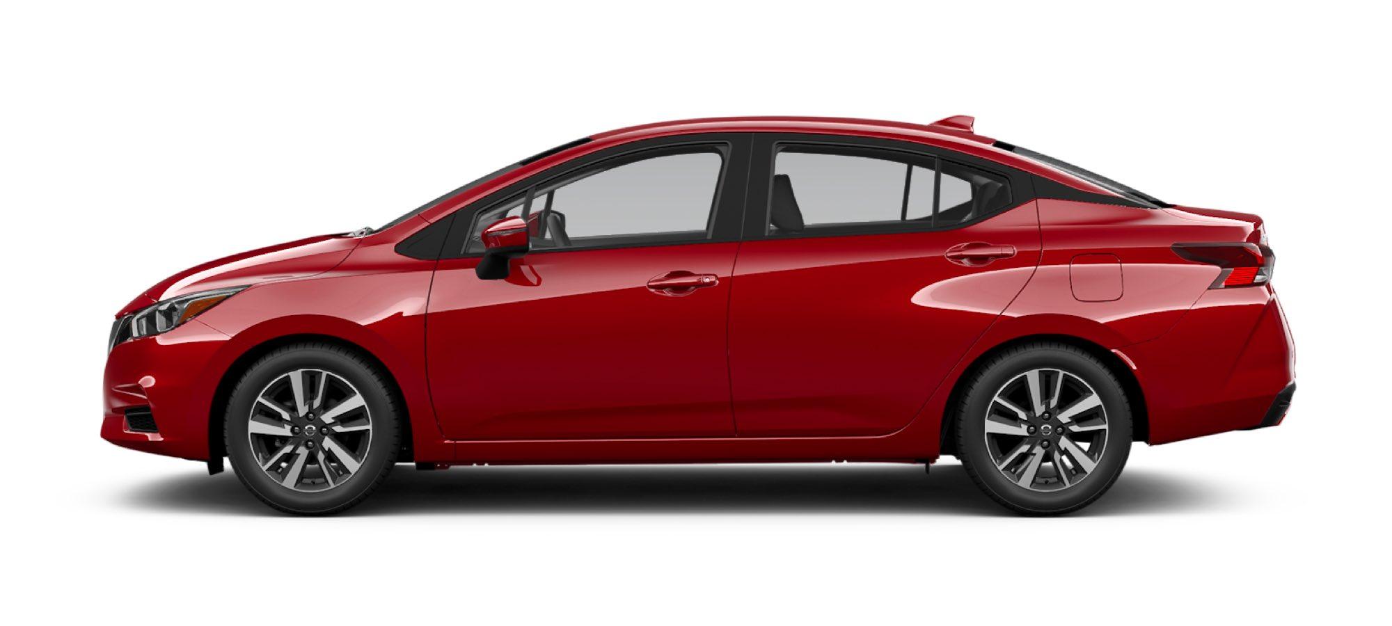 2021 Nissan Versa in Scarlet Ember Tintcoat