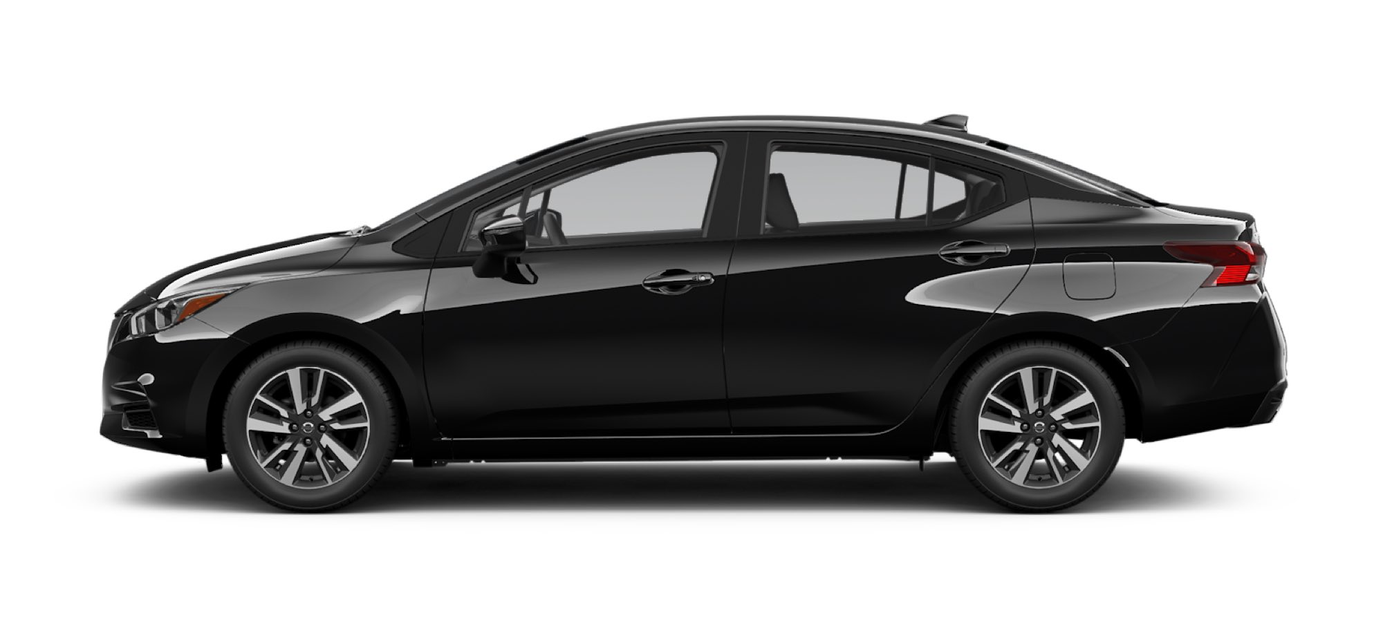 2021 Nissan Versa in Super Black