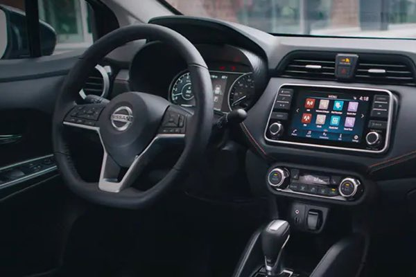 2021 Nissan Versa technology